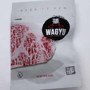 the ten co mylar bags. buy the ten co wagyu strain