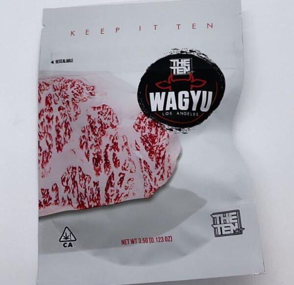 the ten co mylar bags. buy the ten co wagyu strain