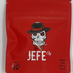 Buy Jefe Og Cookies bags - Jefe Og mylar bags is a source of CBD strain that's known for its uplifting effects. It's best to use it during the daytime once you buy Jefe Og cookies from Loudpackvape dispensary and enjoy it.